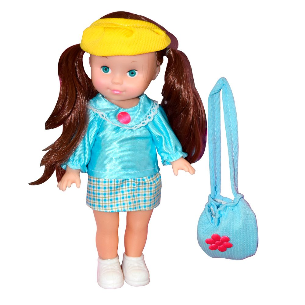 Muñeca-plastica-Happy-Toys-30cm-con-accesorios