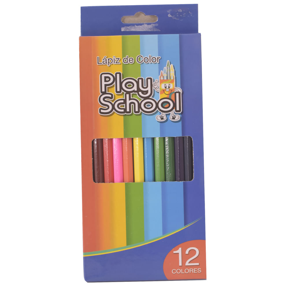 Lapiz-de-color-Play-School-12-uds-largo