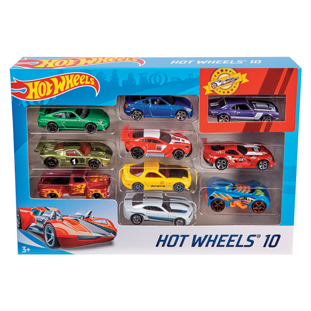 Hot-Wheels-Paquete-De-10