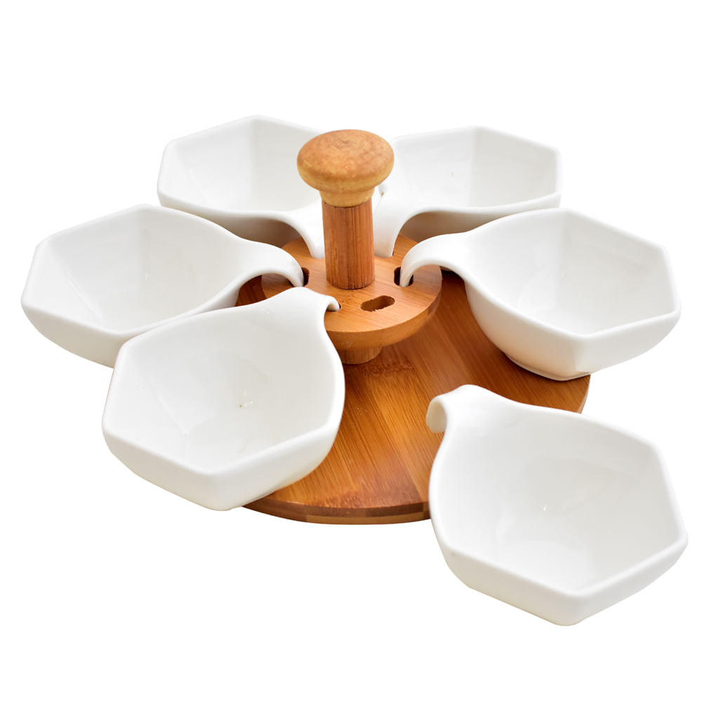 Bowl-De-Ceramica-X-6-Unds-Con-Base-De-Madera-Home-Club