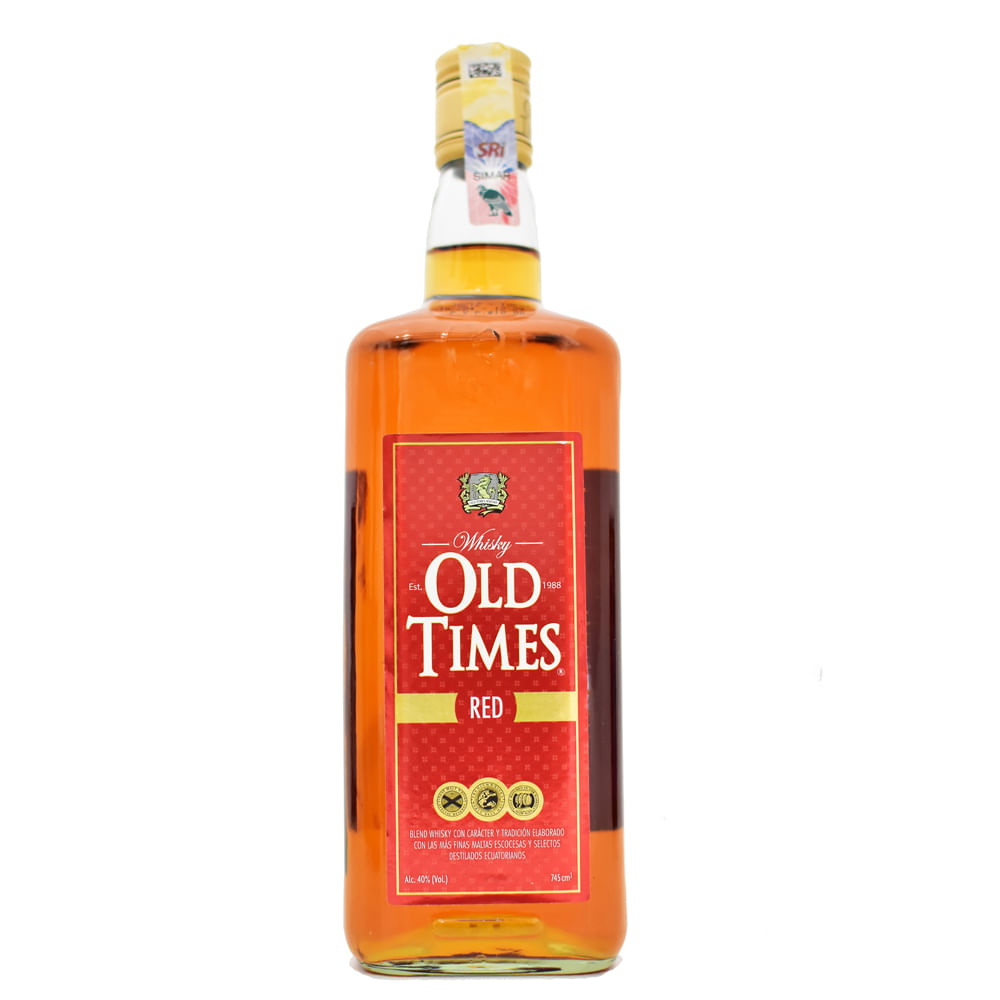 Whisky-Oldtimes-Red-750-ml