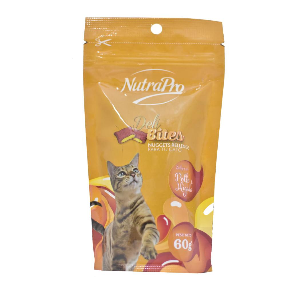 Alimento-Para-gatos-Nutrapro-60-G-Deli-Bites-Pollo-E-Higado-