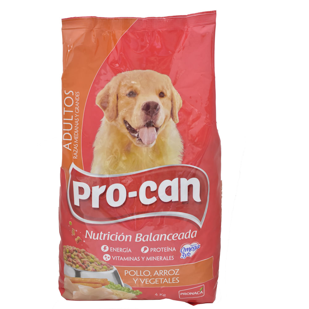 Alimento-Para-perro-Procan-Adulto-4kg-Pollo-Arroz-Vegetales