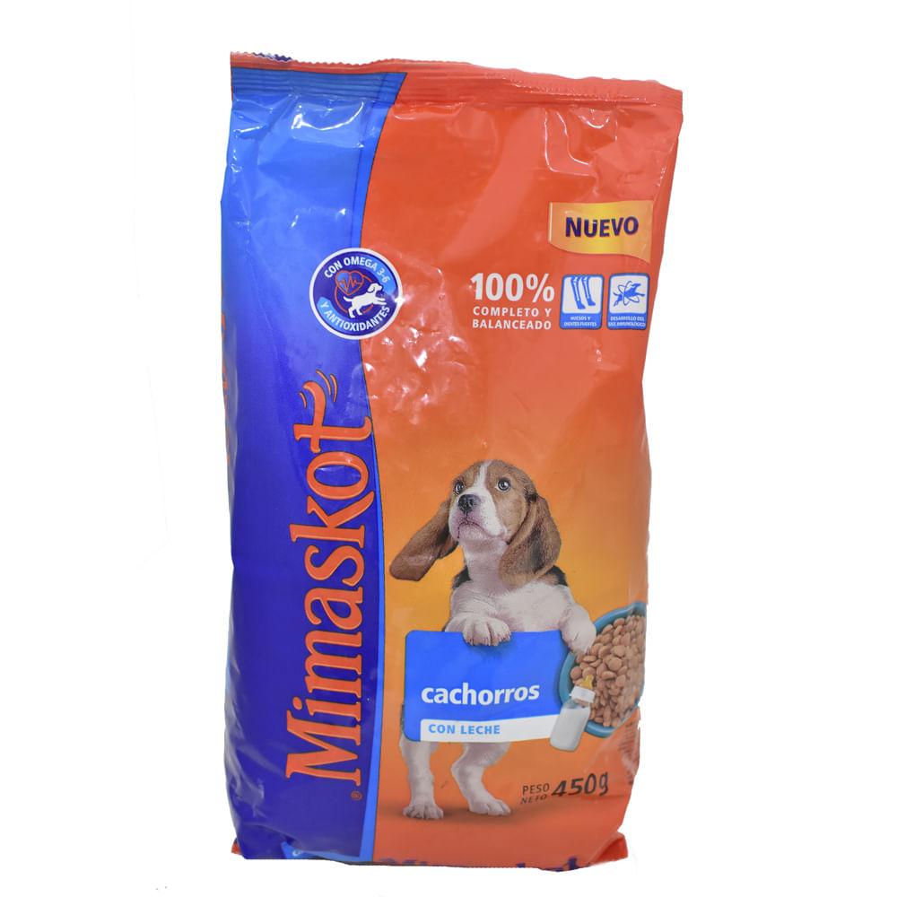 Alimento-Para-perro-Mimaskot-Cachorro-450-g-Leche