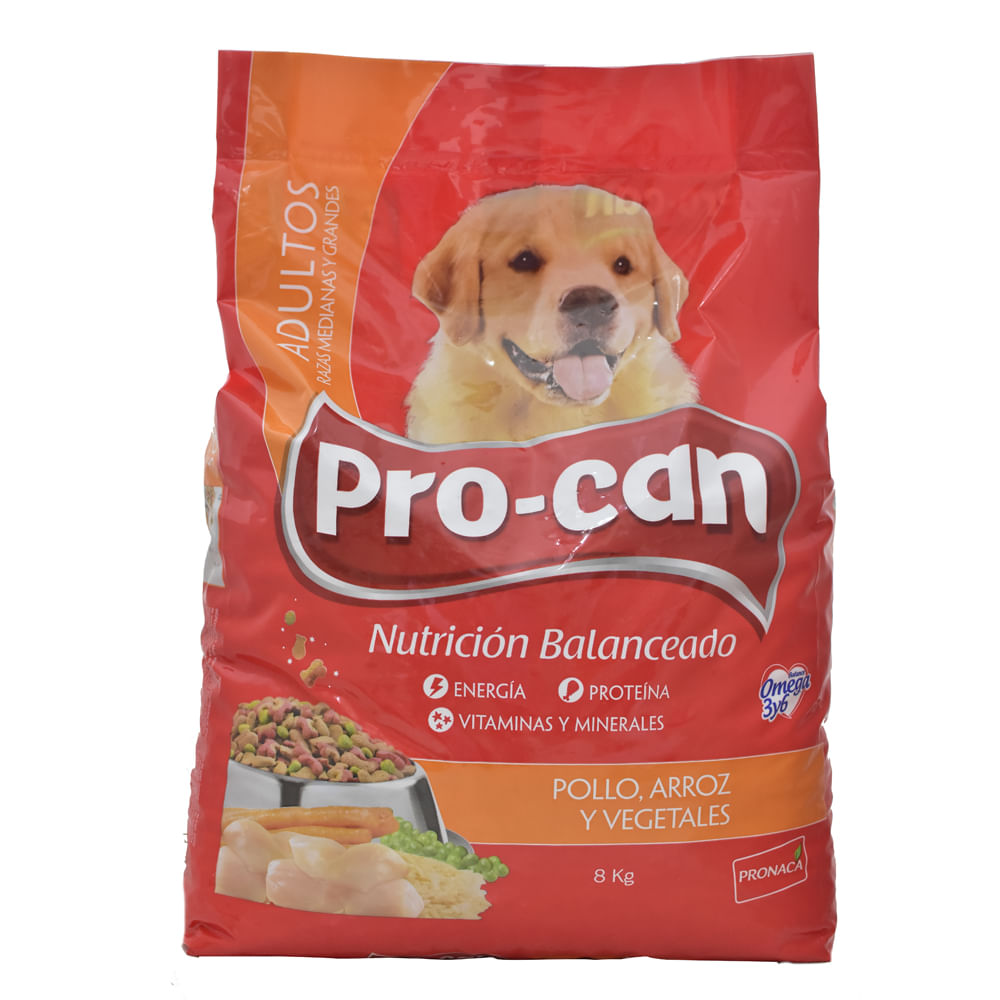 Alimento-Para-perro-Procan-Adulto-8kg-Pollo-Arroz-Vegetal