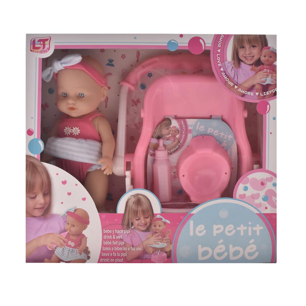 Muñeca-29-cm-con-silla-comedor-Loko-Toys