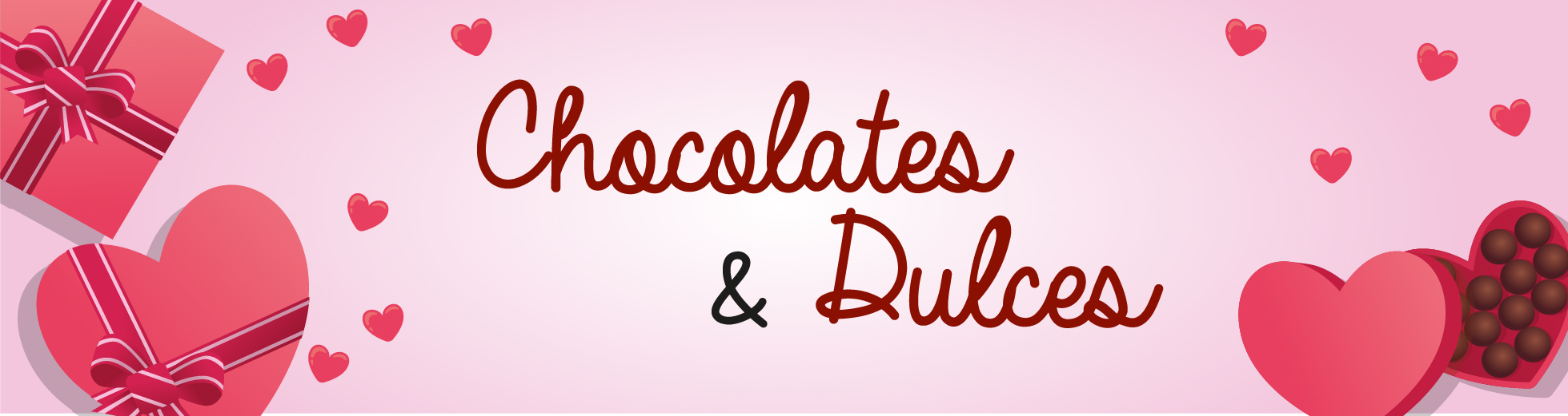 chocolates y dulces