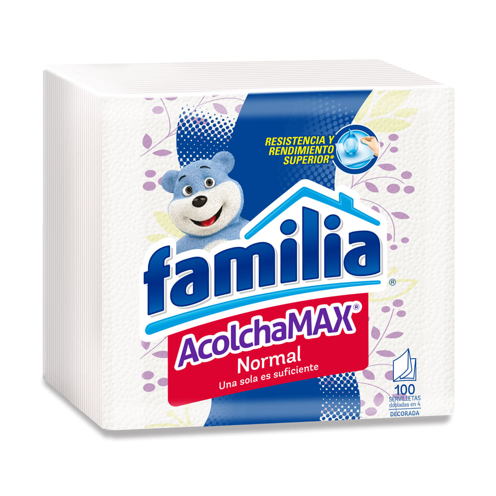 Servilleta-Familia-Normal-Decorada-Acolchamax-x-100-unds-27cm