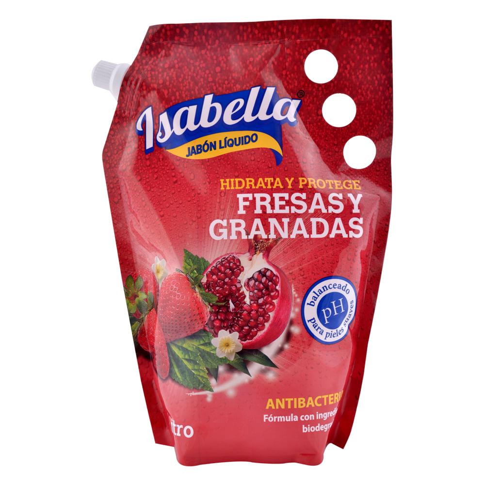 Jabon-Liquido-Isabella-Doypack-1000-ml-Fresas-Mango