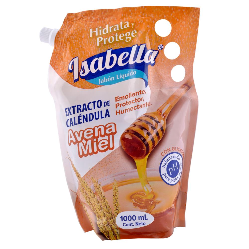Jabon-Liquido-Isabella-Doypack-1000-ml-Avena-Y-Miel