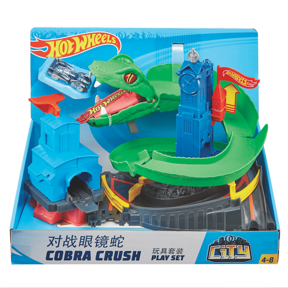 Pista-De-Carros-30-cm-Hot-Wheels-Cobra-Trituradora