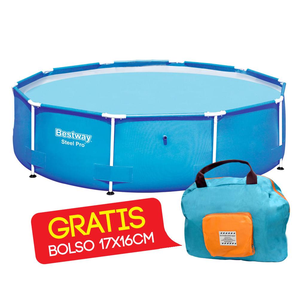 Piscina-estructural-BestWay-305-x-76-cm-Redonda-GRATIS-Bolso