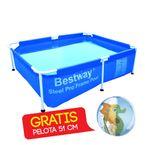 Piscina-estructural-BestWay-228-x-159-x-24-cm-GRATIS-Pelota-de-playa