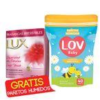 Jabon-Lux-x3unds-125g-c-u-Suavidad-de-Petalos-Gratis-Pañitos-Humedos