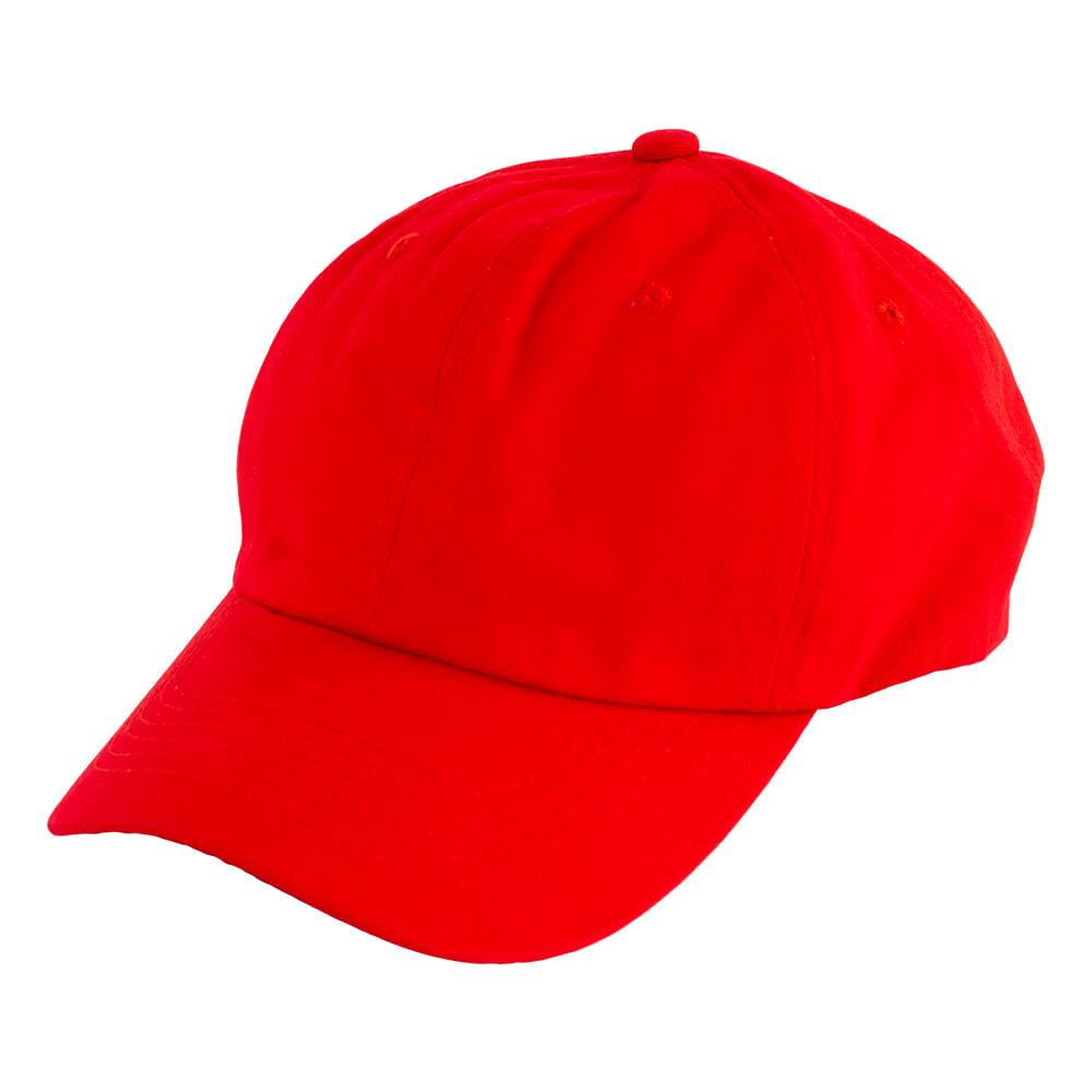 Gorra-para-caballero-basica-Rojo