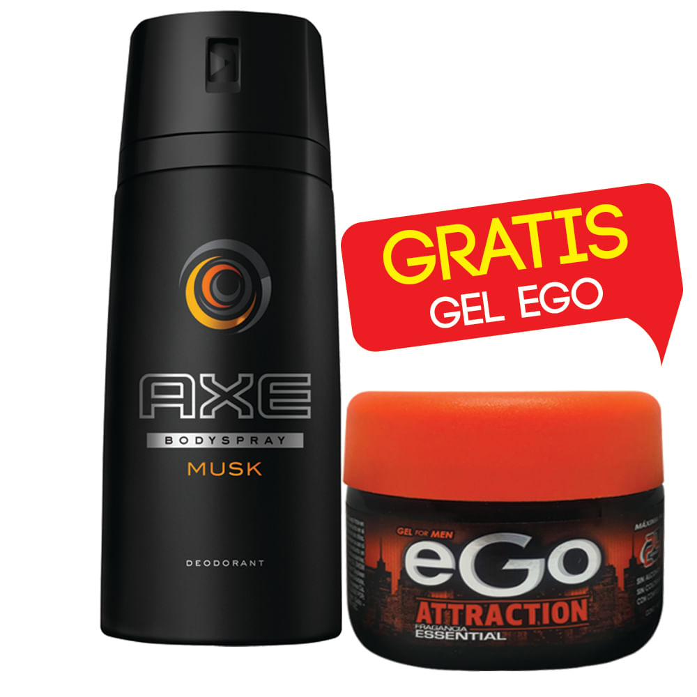Desodorante-Axe-Body-Spary-150-ml-Musk-Collision-Gratis-Gel