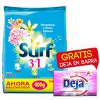 Detergente-Surf-400-g-Hortencia-Flores-Blancas-Gratis-Barra