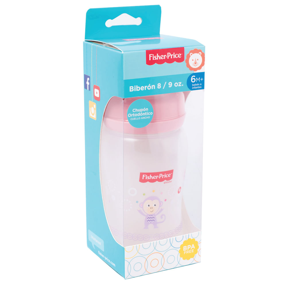 Biberon-8-9-oz-Fisher-Price-3-a-6-meses