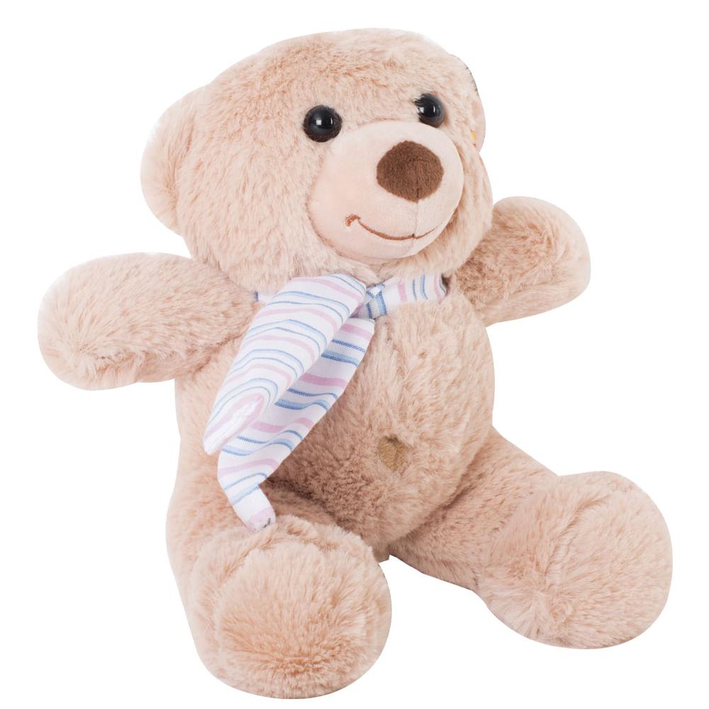 Peluche-oso-25-cm-con-bufanda-clara
