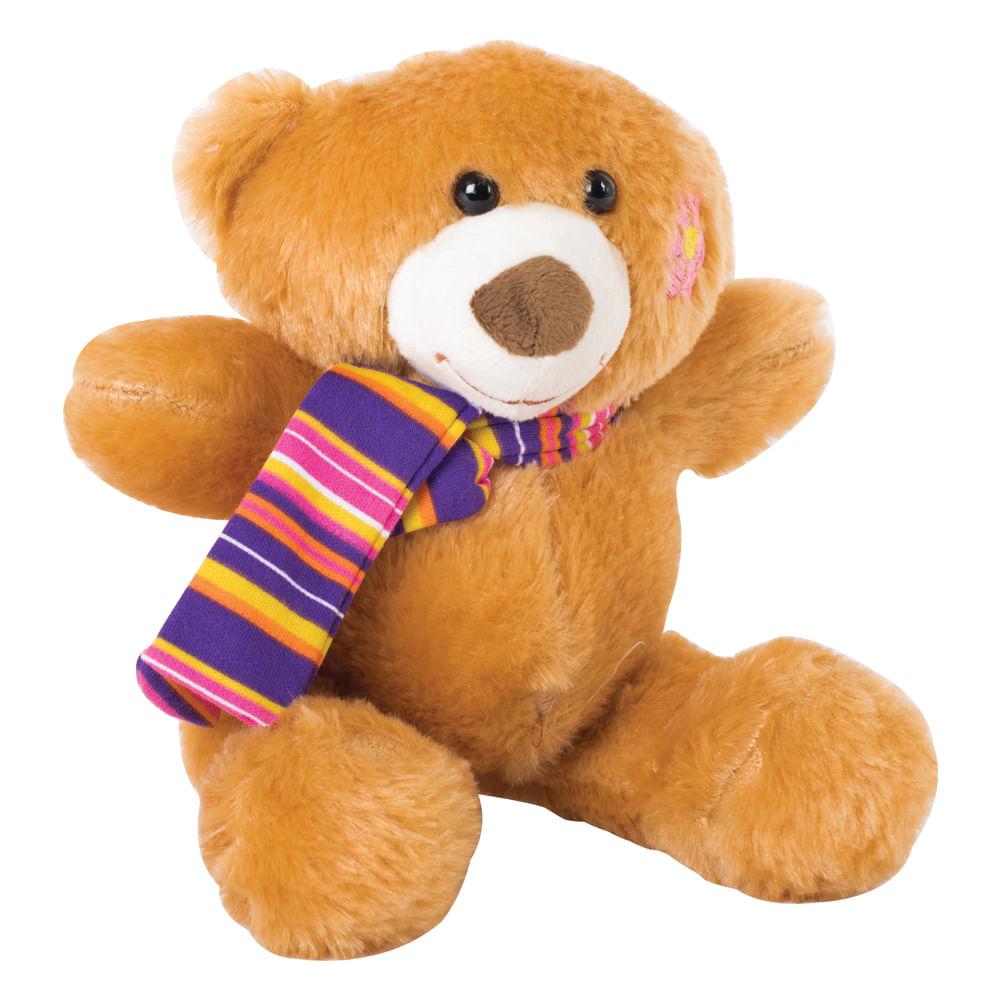 Peluche-oso-25-cm-con-bufanda-multicolor
