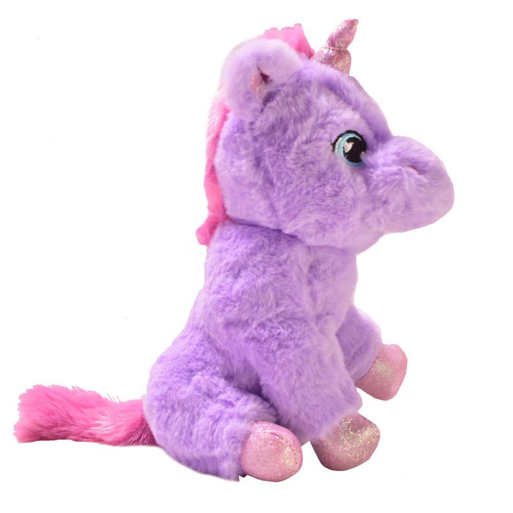 Peluche-22-cm-HappyToys-unicornio-morado