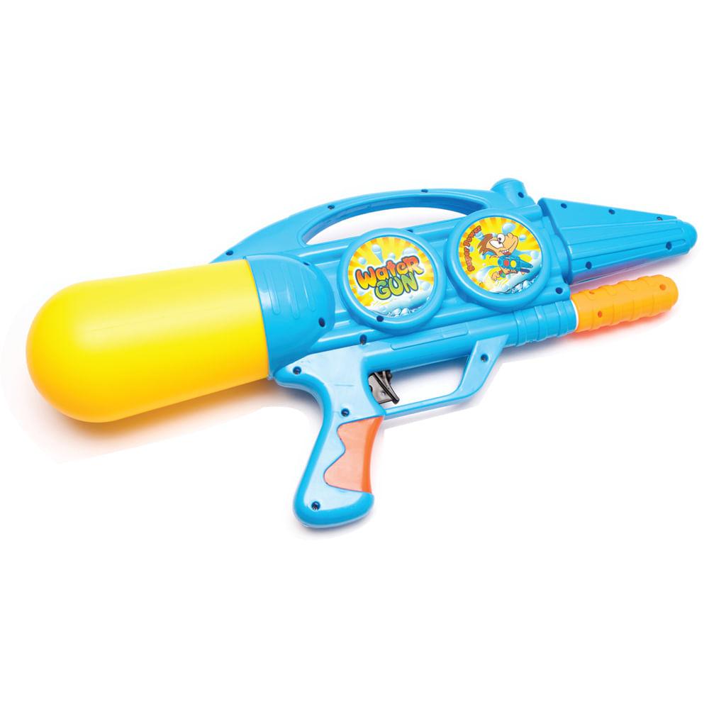 Arma-Lanza-agua-48-cm-HappyToys-azul