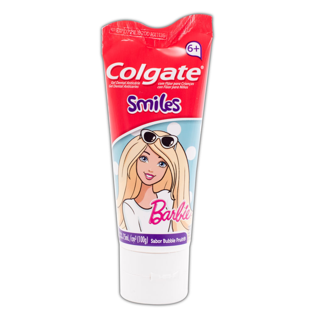 Crema-dental-Colgate-infantil-75-ml-barbie-6-años
