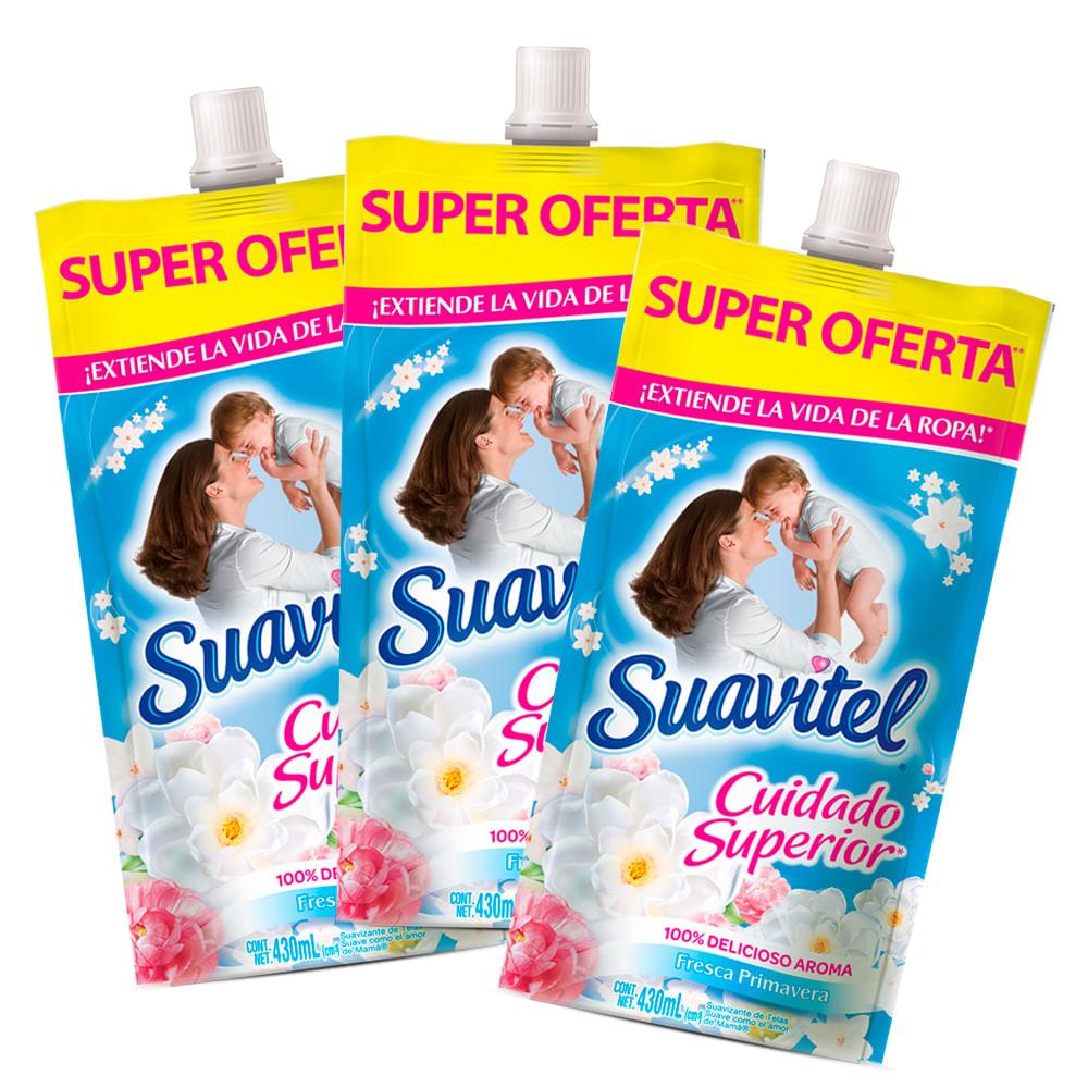 Suavizante-Suavitel-doypack-430-ml-fresca-primavera-x3-uds.