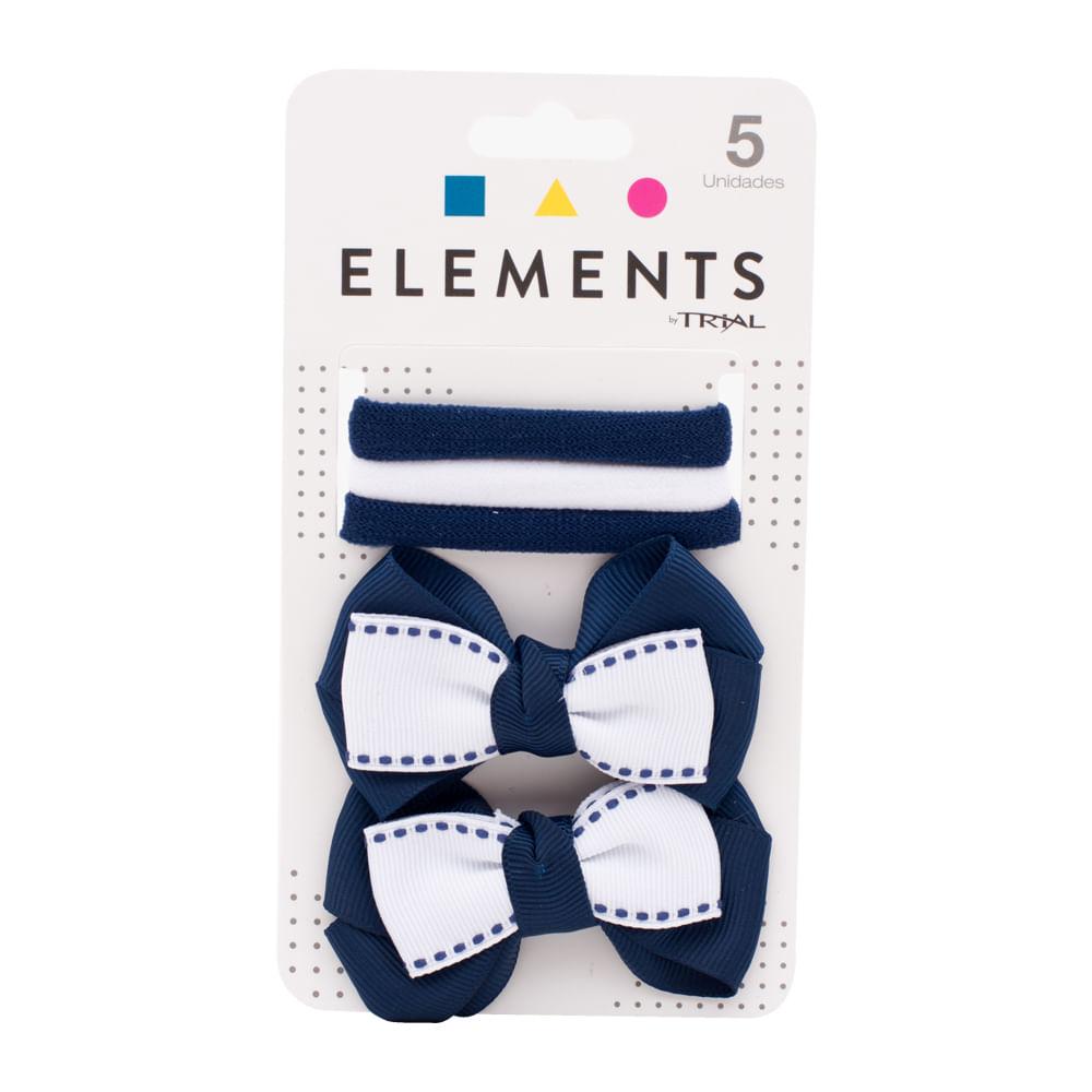 Set-de-monos-y-lazos-Trial-x-5-uds-azul