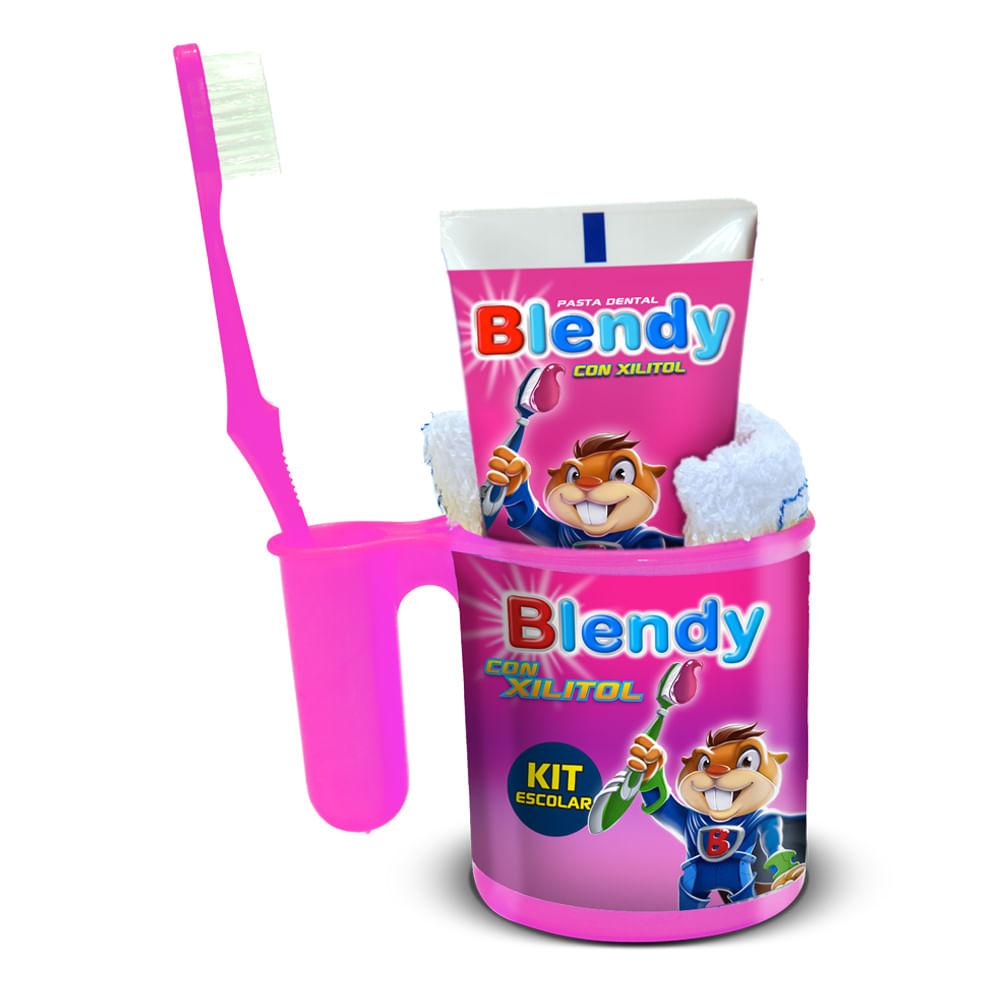 Crema-dental-Blendi-75ml---cepillo-dental---vaso---toalla