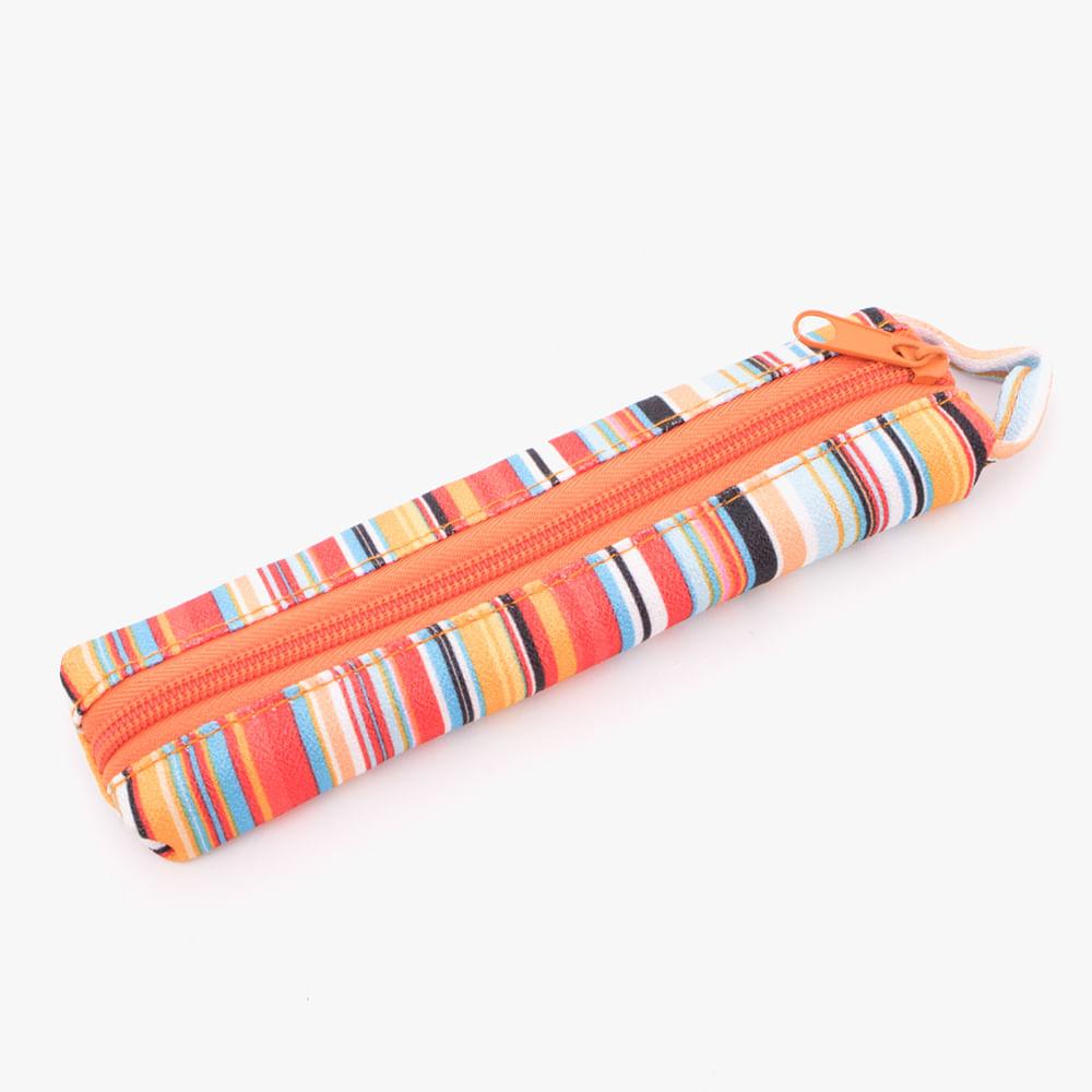 Cartuchera-diseños-surtidos-naranja