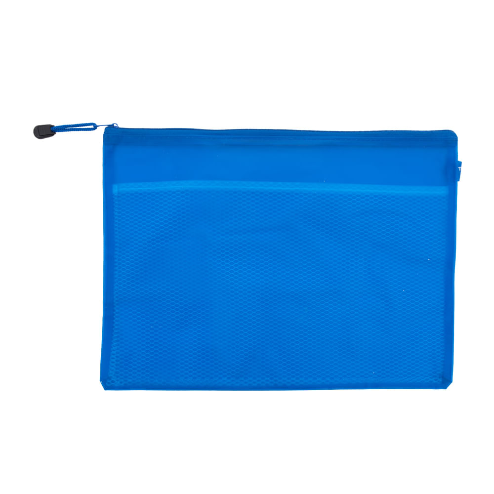 Sobre-plastico-A4-con-cierre-trambo-azul