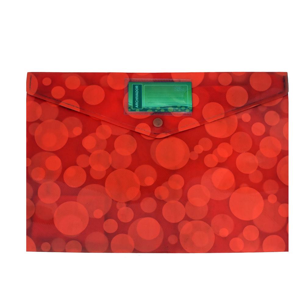 Sobre-plastico-A4-Play-School-rojo