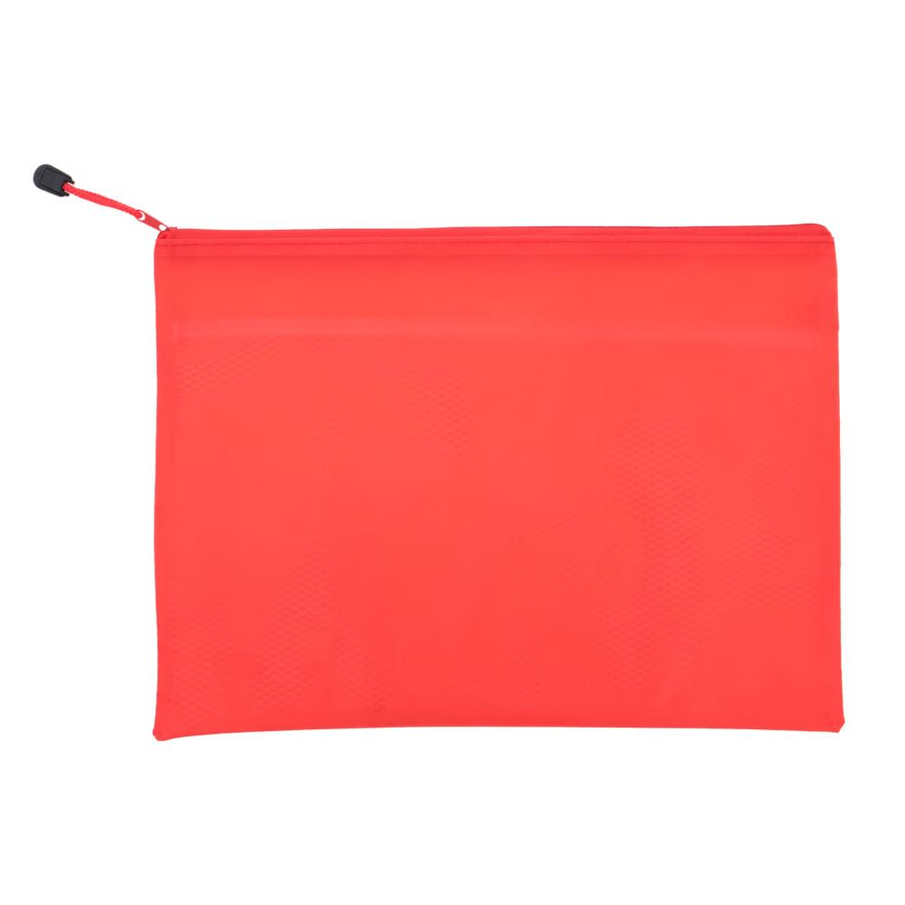 Sobre-plastico-A4-con-cierre-trambo-rojo