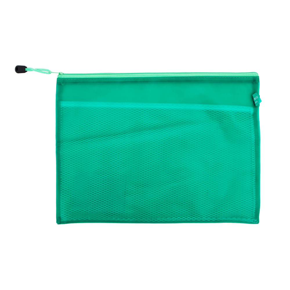 Sobre-plastico-A4-con-cierre-trambo-verde