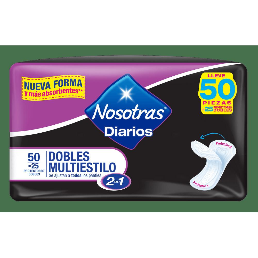 Protectores-diarios-Nosotras-Dobles-25-uds--2-piezas-en-1-