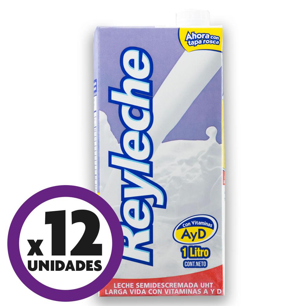 Leche-ReyLeche--1-L-Semidescremada-Tetrapack-x12-uds.