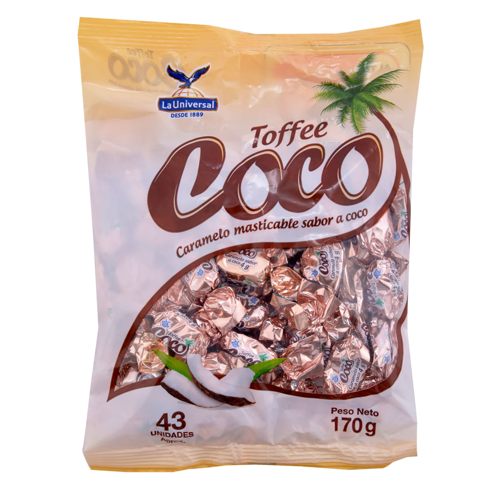 Caramelo-masticable-La-Universal-Toffee-coco-170-g