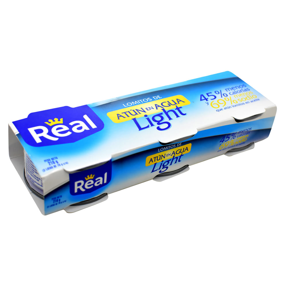 Atun-light-Lomitos-en-agua-Real-70g-x3-uds.