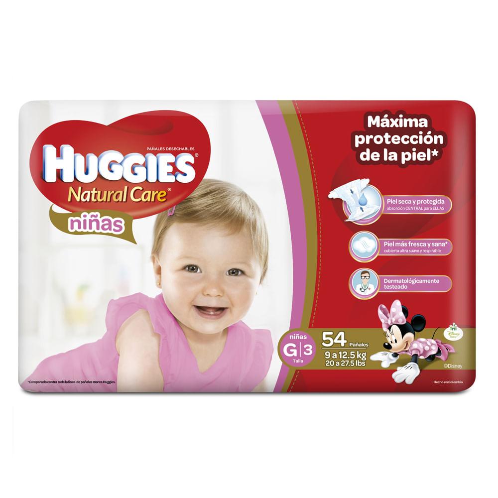 Pañales-Huggies-Natural-Care-Niña-G-54uds