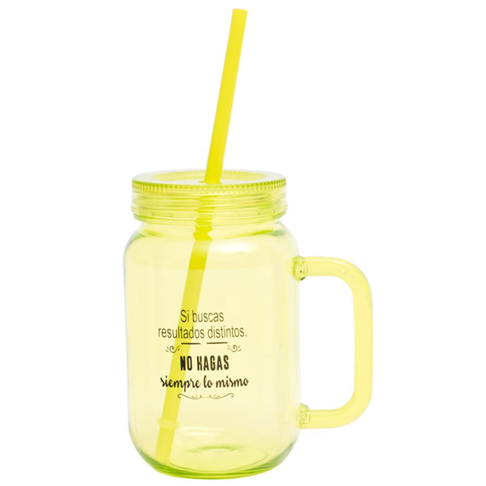 Vaso-plastico-550-ml-con-sorbete-Homeclub-amarillo