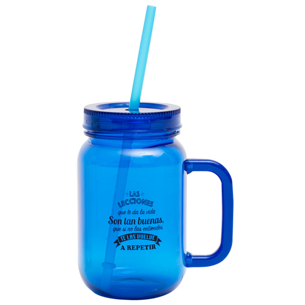Vaso-plastico-550-ml-con-sorbete-Homeclub-azul