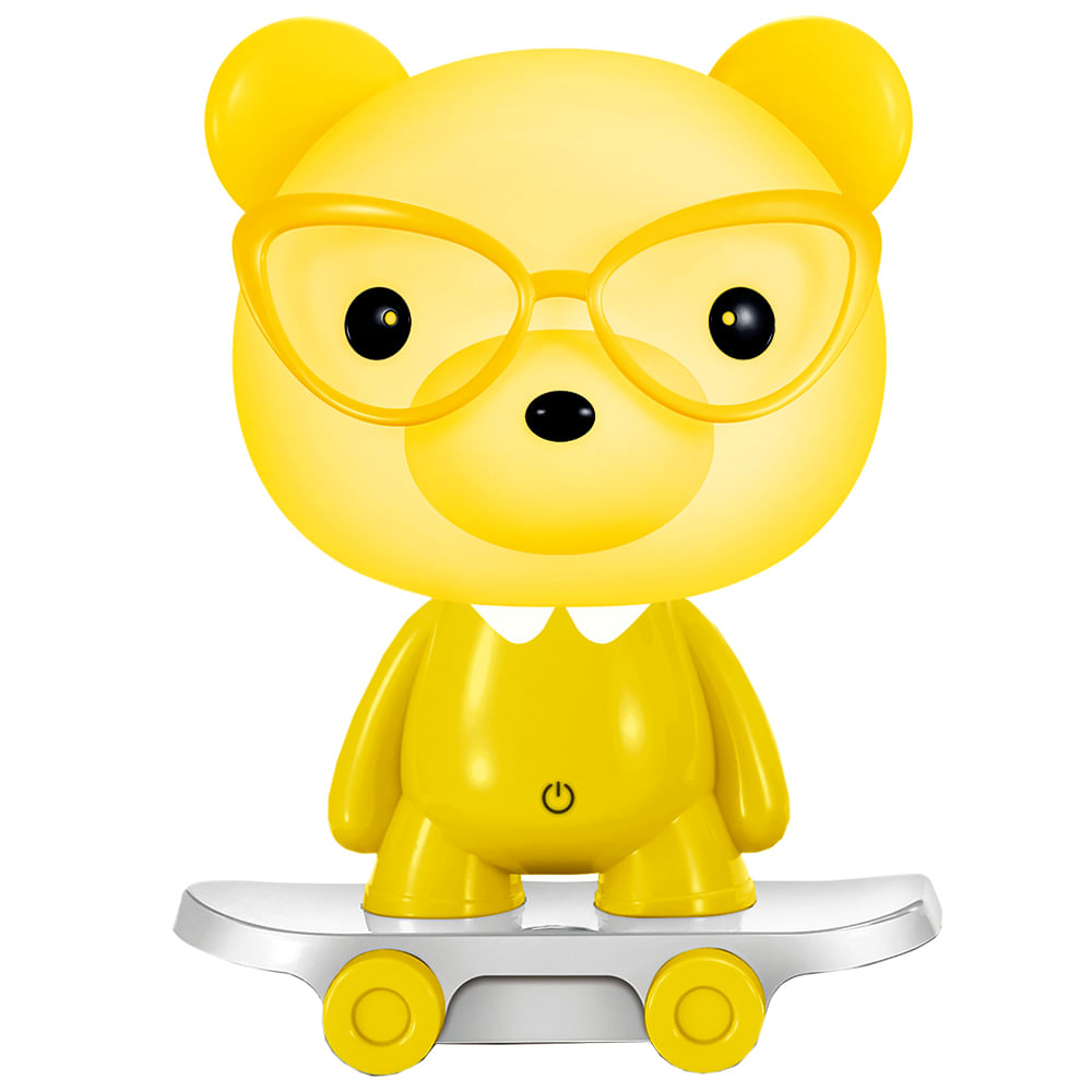 Lampara-Led-Infantil-Oso-Yellow-Hometech