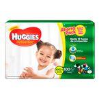 Pañales-huggies-Active-Sec-100-uds-XXG