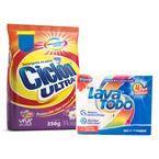 Jabon-para-lavar-ropa-Lava-Todo-6-245-g-x4-uds-GRATIS-detergente-Ciclon-350-g