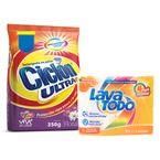 Jabon-para-lavar-ropa-Lava-Todo-6-Mandarina-245-g-x4-uds-GRATIS-detergente-Ciclon-350-g