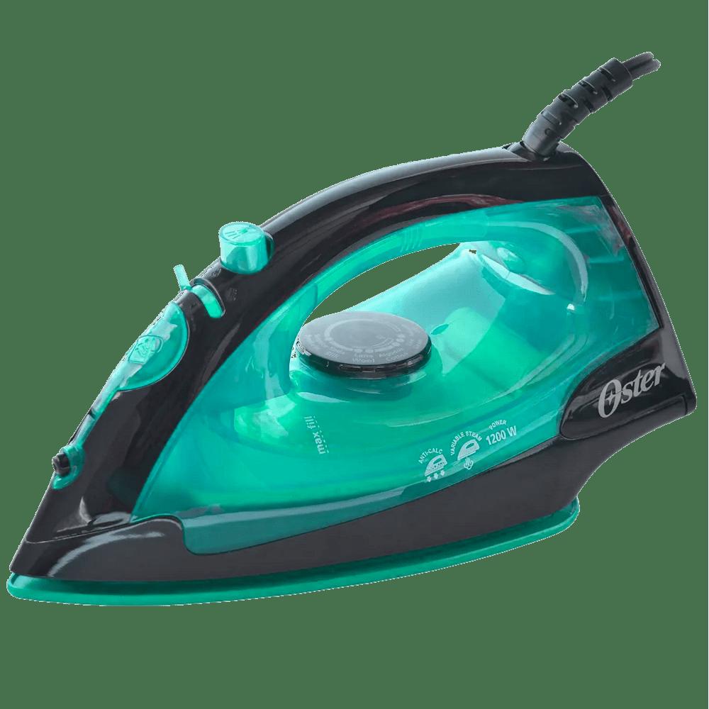 Plancha-Hometech-verde-a-vapor-con-rociador