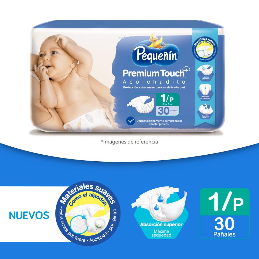 Pañales-Pequeñin-Premium-Touch-x50-uds-T--Pequeño