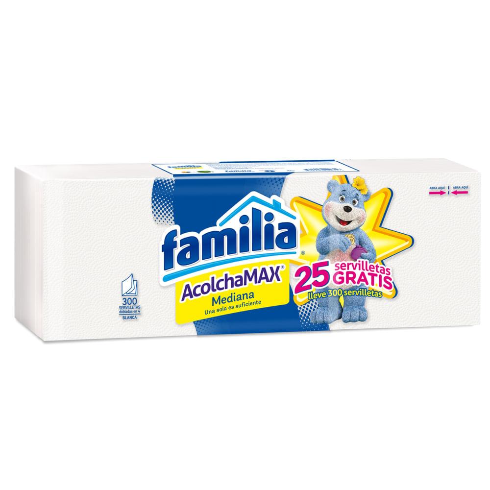 Servilleta-Acolchamax-Familia-Mediana-25x25cm-x300-uds.