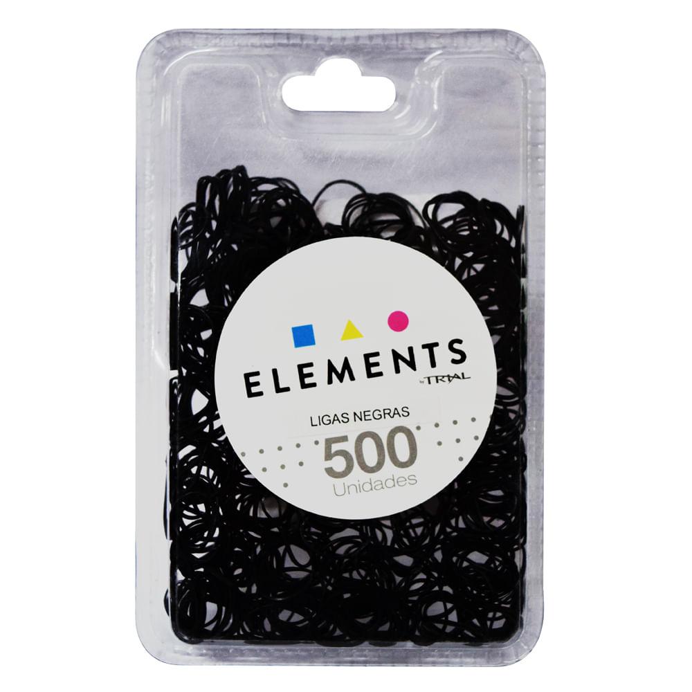 Ligas-para-cabello-Trial-500-uds-negro